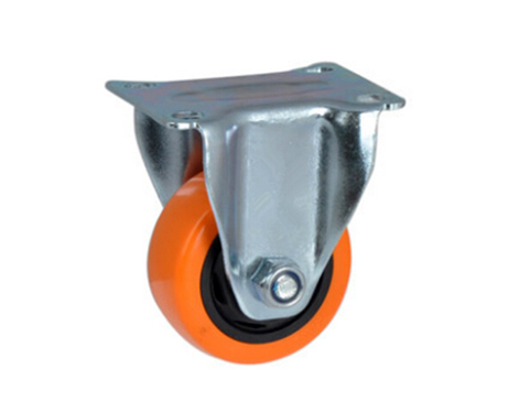 Middle Type Orienting Rigid PU Caster